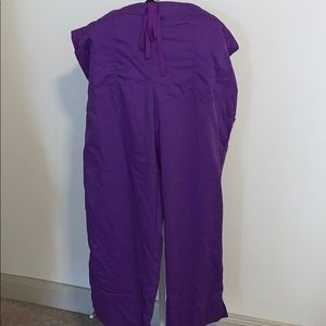 Grey's Anatomy by Barco scrub pants 2xl purple
